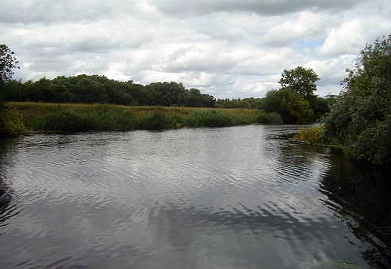 River great Ouse at Chellington