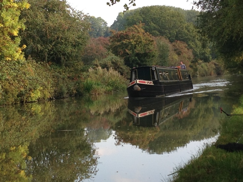 Fishing on Grand Union Canal Theddingworth